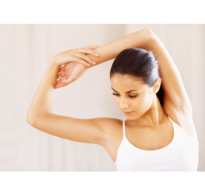 Work your way to thinner arms