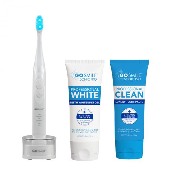 GO SMILE Sonic Blue Teeth Whitening System