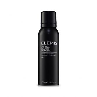 ELEMIS Ice Cool Foaming Shave Gel For Men 100ml - travel