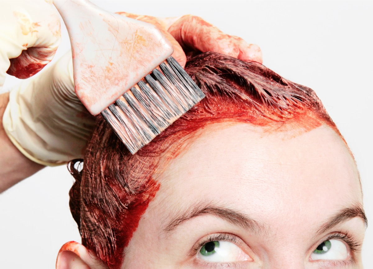 Can food coloring help even out your hair tone?
