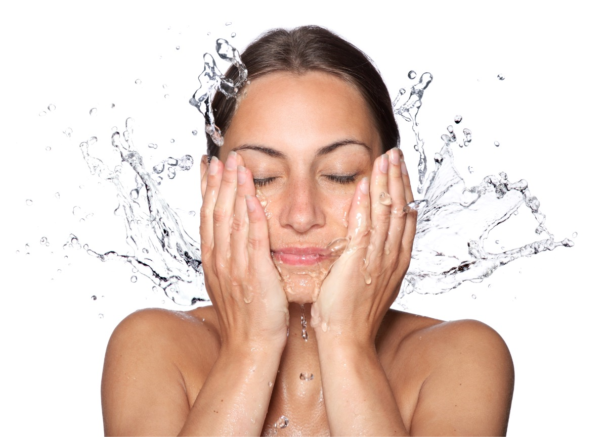 Face washing tips for clearer skin