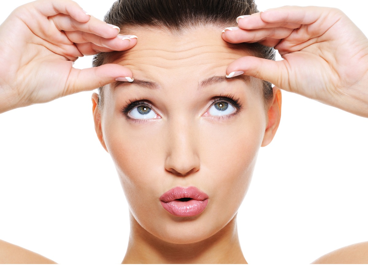 Remedies for forehead wrinkles
