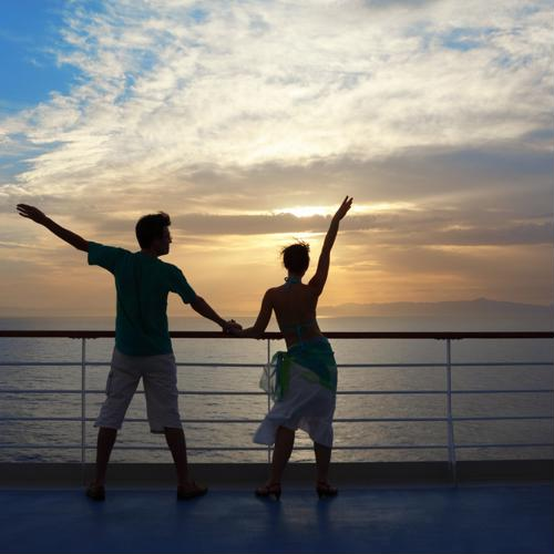 The most romantic honeymoon cruise destinations