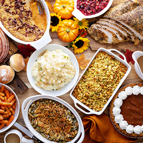 The hidden beauty benefits of your favorite Thanksgiving foods