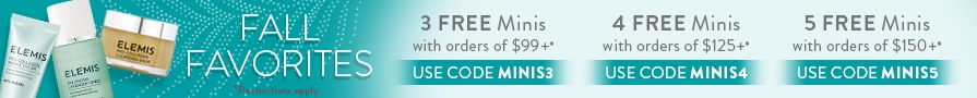 Choose up to 5 FREE Minis on orders of $150+ | Use code MINIS5