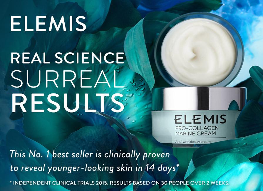 discover elemis pro-collagen at timetospa.com