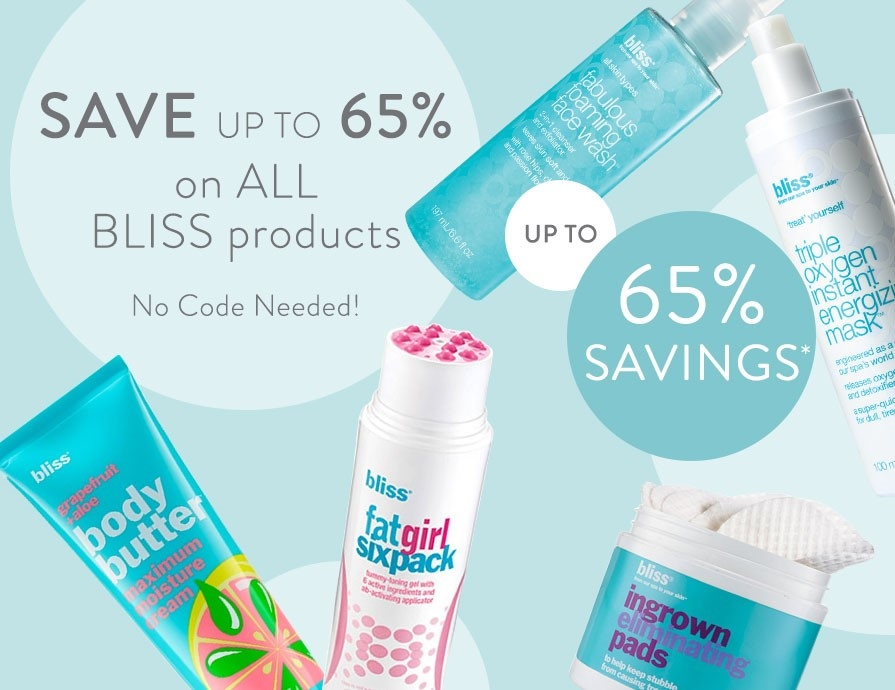 discover bliss product offers at timetospa.com