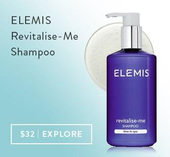 shop elemis revitalize me shampoo at timetospa
