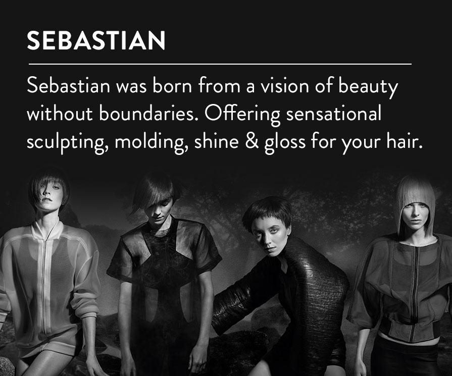 discover sebastian haircare producta at timetospa.com
