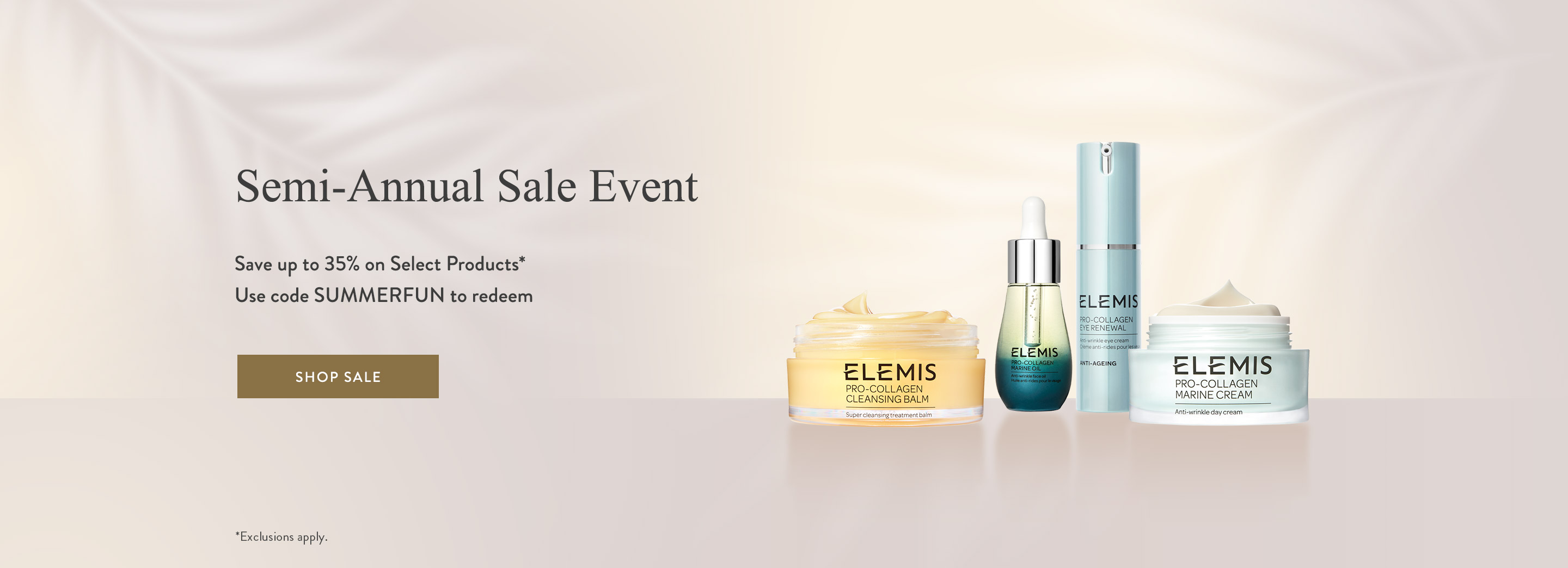Semi-Annual Sale - Up to 35% on Select Products