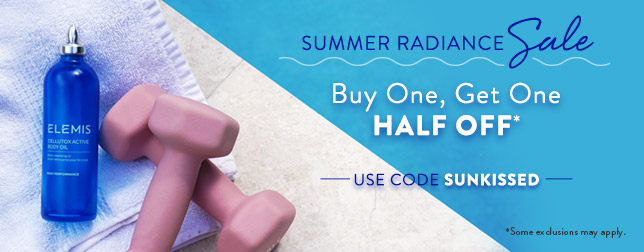 Buy One, Get One Half Off | Use code SUNKISSED