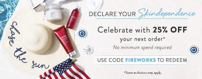 Save 25% Sitewide | Use code FIREWORKS