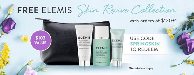 Free ELEMIS Skin Revive Collection with Orders of $120+| Use code SPRINGSKIN