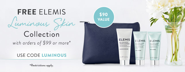 Free Luminous Skin Collection with Orders of $99 or more | Use code LUMINOUS